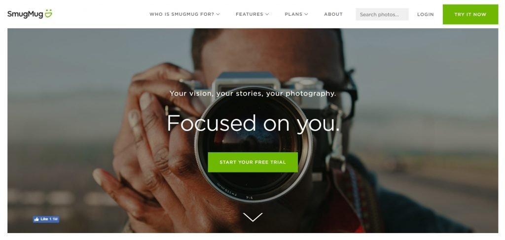 SmugMug makes photo sharing and editing easy
