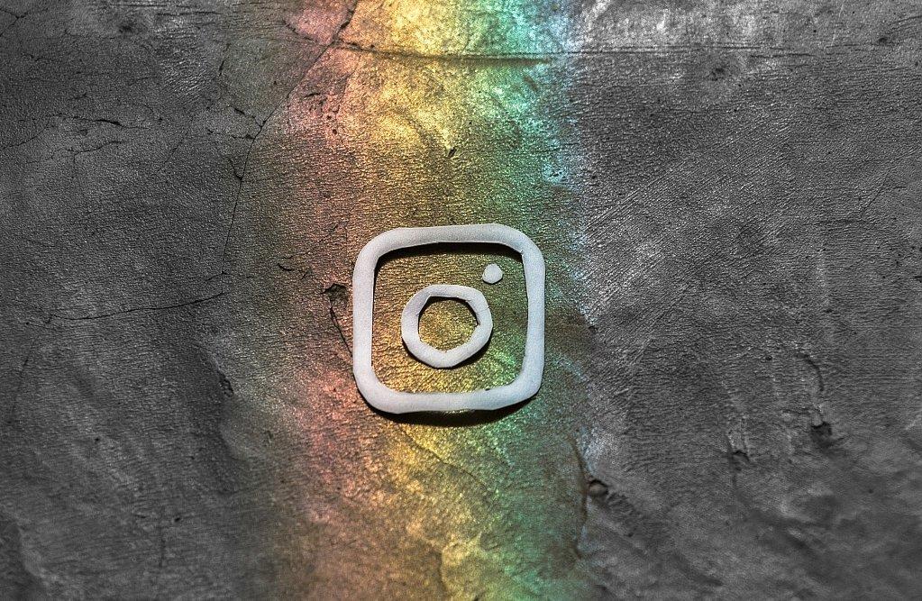 Instagram Logo art  Photo by lalo Hernandez on Unsplash